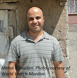 Mehdi Forootan-World Watch Monitor-with caption