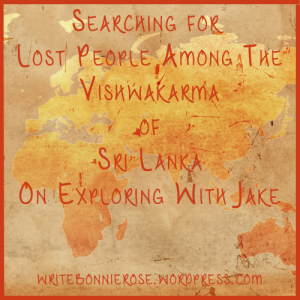 Unreached People Groups Vishwakarma of Sri Lanka